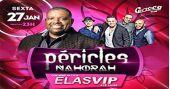 O cantor Péricles sobe no palco com o melhor do samba e pagode no Carioca Club