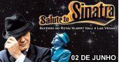 O cantor britânico Louis Hoover faz um tributo a Frank Sinatra no Espaço das Américas