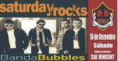 Sal Vicent e banda Bubbles embalam a noite Saturday Rocks no Republic Pub com o melhor do pop rock