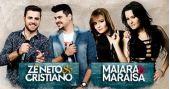 Zé Neto & Cristiano e Maiara & Maraisa cantam seus sucessos no Estância Alto da Serra