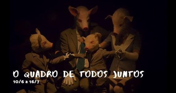 O Quadro de Todos Juntos estreia no Sesc Consolação Eventos BaresSP 570x300 imagem