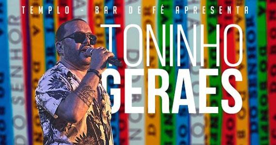 Toninho Geraes embala noite de samba no Templo Bar Eventos BaresSP 570x300 imagem