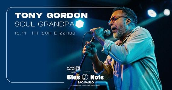 Tony Gordon apresenta o show Soul Grandpa no Blue Note São Paulo Eventos BaresSP 570x300 imagem