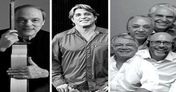 Toquinho, Ivan Lins e MPB4 trazem o show 50 anos de música para o palco do Tom Brasil Eventos BaresSP 570x300 imagem