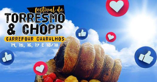 Festival do Torresmo e Chopp na cidade de Guarulhos Eventos BaresSP 570x300 imagem