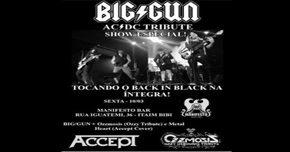 Show Especial com tributo ao AC/DC com a banda Big Gun no Manifesto Bar tocando na íntegra o cd Back in Black Eventos BaresSP 570x300 imagem