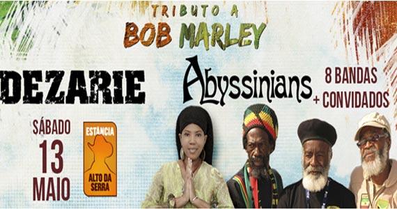 Tributo a Bob Marley com Chimarruts, Mato seco, Ponto de Equilibrio, Planta e Raiz e mais no Estância Alto da Serra Eventos BaresSP 570x300 imagem