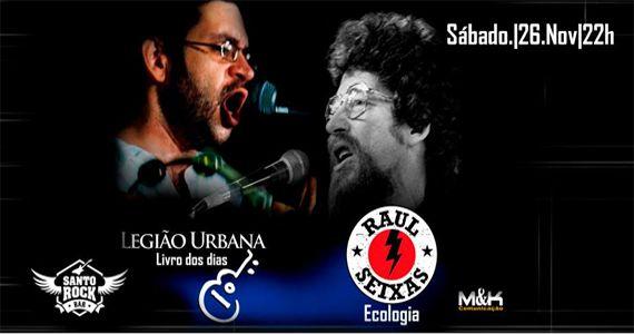 Os maiores sucessos do Legião Urbana e Raul Seixas no Santo Rock Bar Eventos BaresSP 570x300 imagem