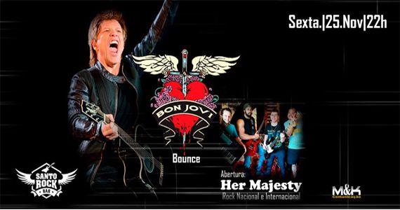 Sexta vai rolar o Tributo a Bon Jovi com a Banda Bounce no Santo Rock Bar Eventos BaresSP 570x300 imagem