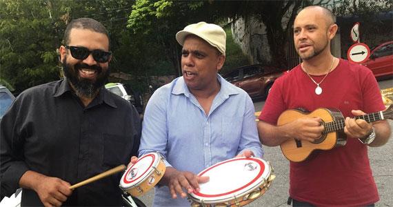 Sábado à tarde samba com o Trio do Batata no Boteco São Paulo e a noite grupo Arrebol Eventos BaresSP 570x300 imagem