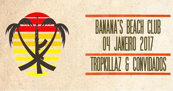 A dupla de Djs produtores TROPKILLAZ ferve a pista do Banana's Beach Club Eventos BaresSP 570x300 imagem