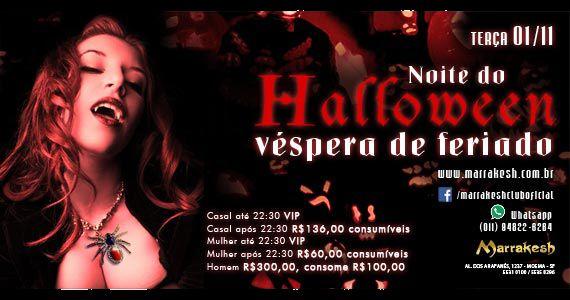 Noite do Halloween agita a véspera de feriado do Marrakesh Club Eventos BaresSP 570x300 imagem