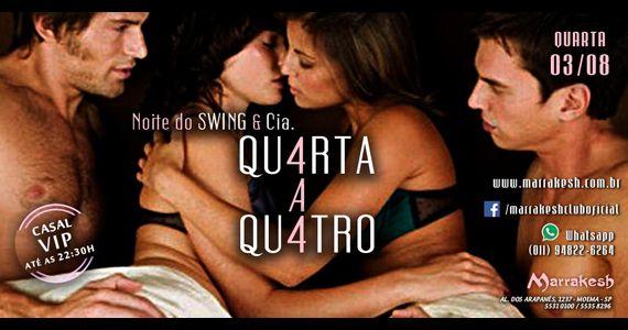Noite do Swing e Cia com a noite Qu4rta a Qu4tro no Marrakesh Club Eventos BaresSP 570x300 imagem