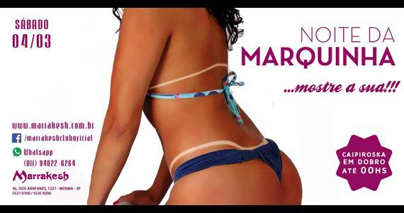 Noite da Marquinha com Caipiroska em Dobro no Marrakesh Club Eventos BaresSP 570x300 imagem