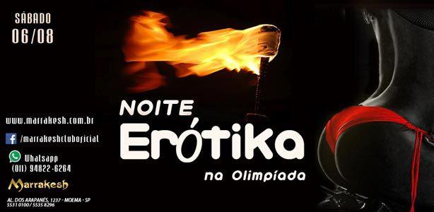 Noite Erótika na Olimpíada esquentando o Marrakesh Club Eventos BaresSP 570x300 imagem