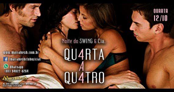 Quarta-feira com Noite do Swing e Cia Qu4rta e Qu4tro para animar o Marrakesh Club Eventos BaresSP 570x300 imagem