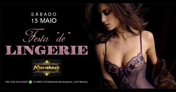 Festa de Lingerie para animar o sábado do Marrakes Club Eventos BaresSP 570x300 imagem