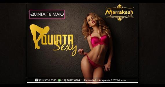 Quinta Sexy anima a noite com muito swing no Marrakesh Club Eventos BaresSP 570x300 imagem