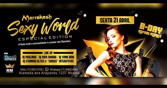 Festa Sexy World com Djs animando a sexta do Marrakesh Club Eventos BaresSP 570x300 imagem