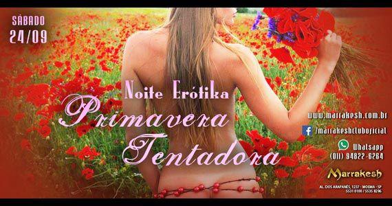 Noite Erótika Primavera Tentadora esquenta o sábado no Marrakesh Club Eventos BaresSP 570x300 imagem