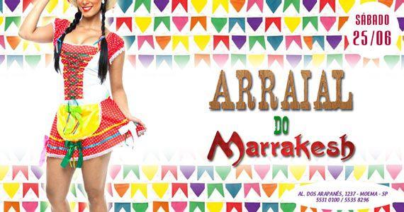 Sábado tem Arraial do Marrakesh Club para esquentar a noite Eventos BaresSP 570x300 imagem