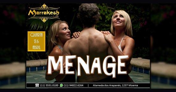 Quarta tem a Noite do Ménage para esquentar o Marrakesh Club Eventos BaresSP 570x300 imagem