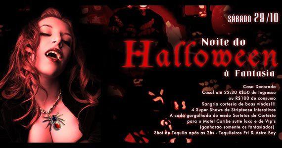 Noite do Halloween neste s�bado no Marrakesh Club