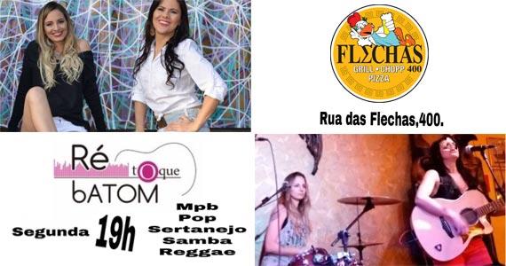 Banda Ré Toque Batom animam a noite com clássicos da música brasileira no Bar Flechas Eventos BaresSP 570x300 imagem