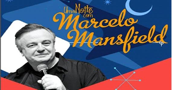 Em cartaz no Teatro Renaissance a peça Uma Noite com Marcelo Mansfield Eventos BaresSP 570x300 imagem