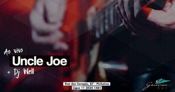Banda Uncle Joe anima o palco do Gràcia Bar na sexta feira Eventos BaresSP 570x300 imagem