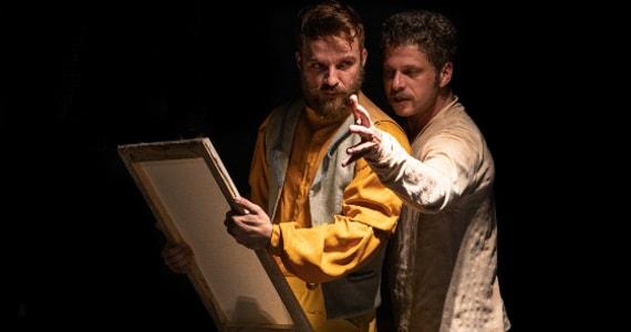 Van Gogh por Gaughin estreia no Teatro Sergio Cardoso Eventos BaresSP 570x300 imagem