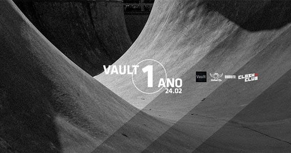 Clash Club comemora 1 ano do circuito Vault, nesta sexta-feira BaresSP