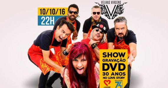 Banda Velhas Virgens se apresentam na Love Story para o Show de Gravação do DVD 30 anos da banda Eventos BaresSP 570x300 imagem