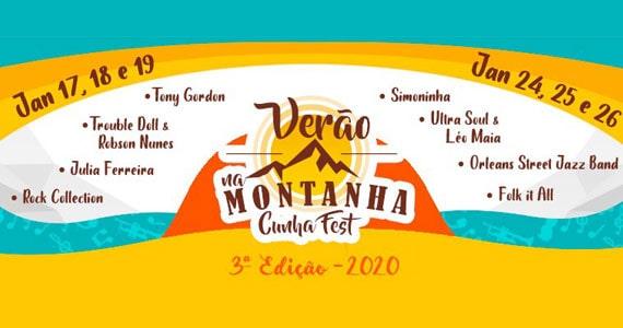 Verão na Montanha Cunha Fest realiza nova edição em janeiro Eventos BaresSP 570x300 imagem