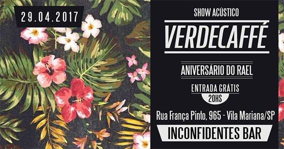 Sábado vai rolar um acústico com a banda Verdecaffé tocando MPB, reggae e rock brasileiro Eventos BaresSP 570x300 imagem