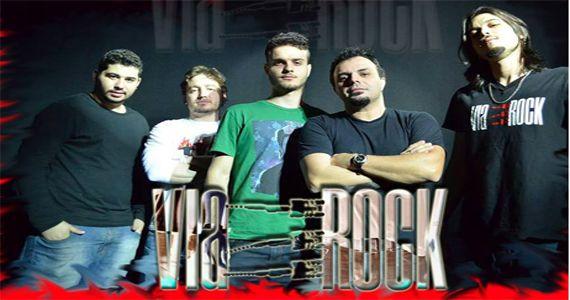 Banda Via Rock ferve à noite com o melhor do pop rock no Cadillac Vintage Bar Eventos BaresSP 570x300 imagem