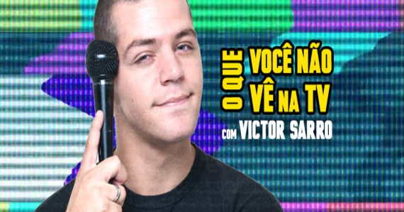Com humor ácido Victor Sarro apresenta o Stand Up O que você não vê na TV hoje no Honda Hall Eventos BaresSP 570x300 imagem