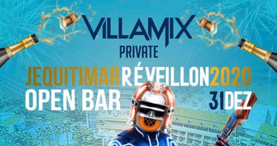Hotel Jequitimar apresenta Villa Mix Private Réveillon