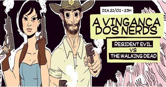 A vingança dos Nerds - Resident Evil VS The Walking Dead na Lab Club Eventos BaresSP 570x300 imagem
