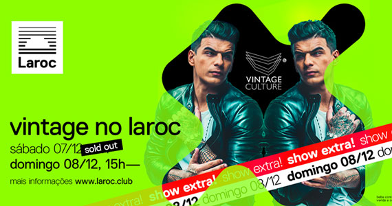 Laroc Club recebe Vintage Culture