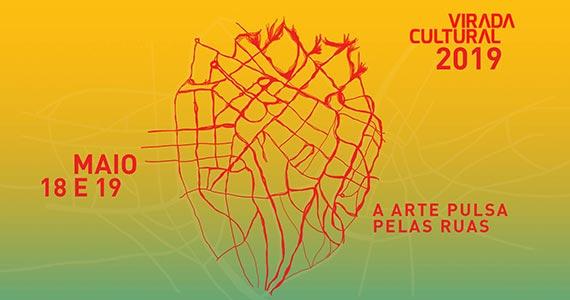 Virada Cultural 2019 oferece diversas atrações no mês de maio em São Paulo Eventos BaresSP 570x300 imagem