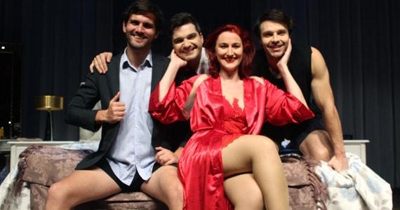 """Comédia """"Viva sem medo suas fantasias sexuais"""" ganha nova temporada no Teatro Raposo Eventos BaresSP 570x300 imagem"""