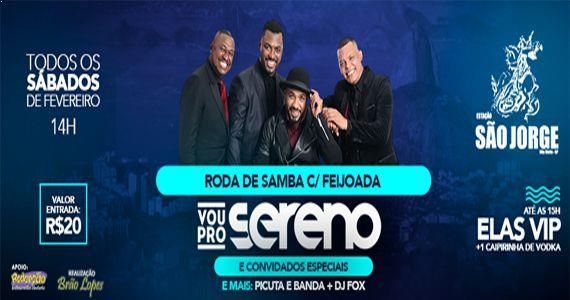 Mistura de ritmos que vão do Pagode ao Axé e do Samba à MPB com Vou Pro Sereno na Estação São Jorge Eventos BaresSP 570x300 imagem