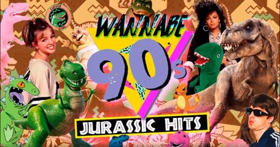 Wannabe 90s - Jurassic Hits no Alberta #3 com os Djs Claudio Marinheiro, Janine Passos e mais Eventos BaresSP 570x300 imagem