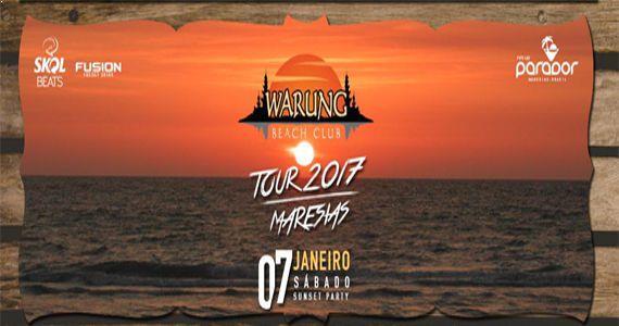 Parador Maresias abre a temporada 2017 com Warung Tour Maresias Sunset Party   Eventos BaresSP 570x300 imagem