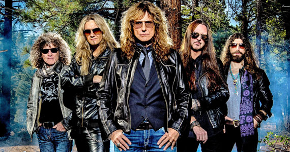 Palco Sunset do Rock in Rio 2019 será invadido pelo hard rock do Whitesnake