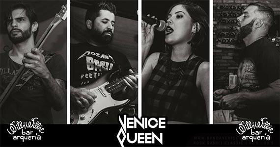 Noite de rock internacional com a Banda Venice Queen no Willi Willie Eventos BaresSP 570x300 imagem