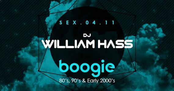Sexta-feira tem toda a vibe do Dj William Hass na Boogie Disco Concept Eventos BaresSP 570x300 imagem