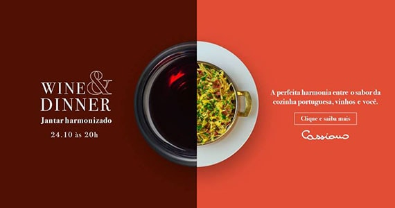 Wine Dinner no Cassiano Restaurante