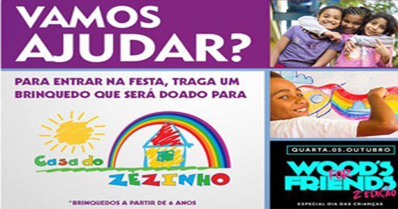 Festa Woods Friends com doação de brinquedo e show do sertanejo Kauã Luna e Rosas de Ouro Eventos BaresSP 570x300 imagem